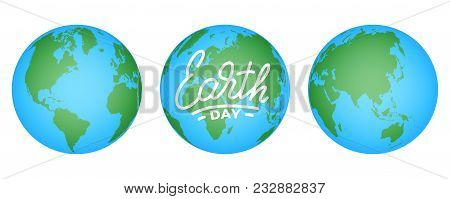 Earth Day Illustration For Earth