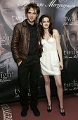 MUNICH, GERMANY - DEC 6: Kristen Stewart; Robert Pattinson at the Twilight - fan event and autograph
