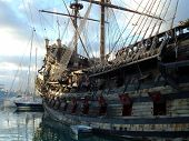 stock photo of pirate ship  - The old ship  - JPG