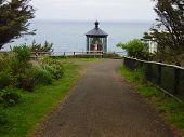 foto of mear  - Cape Mears Lighthouse on the west coast in Oregon