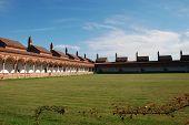 foto of carthusian  - The Certosa di Pavia or Charterhouse of Pavia  - JPG