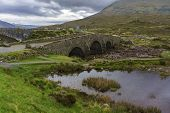 An Old Sligachan Bridge Situated At The Junction Of The Roads From Portree, Dunvegan And Broadford , poster