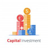 Financial Success, Mutual Fund, Secure Capital Investment, Business Revenue Increase, Stock Market,  poster