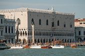 Venice, Italy: View Of The Doges Palace (italian: Palazzo Ducale) poster