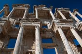 pic of artemis  - The library of Celsus is an ancient Roman building in Ephesus Anatolia Turkey - JPG