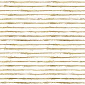 Gold Gliterring Shining Stripe Grunge Seamless Pattern. Golden Stripes On White Background. Hand Dra poster