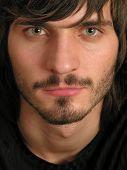 Beardman Face poster