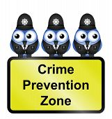 Crime zone UK