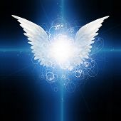 picture of guardian  - Angel winged - JPG