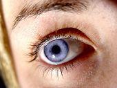 Ladies Eye Closeup poster