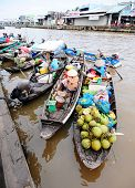 Floating Market in Can Tho, Vietnam