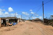 Quelimane, Mozambique - 7 December 2008: City Street.
