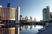 stock photo of cbd  - A view of the Yarra River - JPG