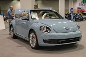 stock photo of beetle car  - Anaheim CA  - JPG