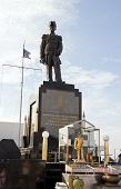 foto of fleet  - Monument to the Admiral of royal Thai fleet Prinze of Krom Luang Jumborn Khet Udomsakdi - JPG