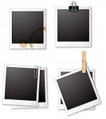 stock photo of polaroid  - Illustration of four different polaroid frames - JPG