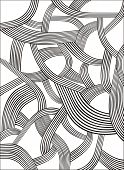 stock photo of splayed  - Abstract creative pattern vector for your design - JPG