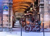 picture of cafe  - Urban street view in Paris - JPG