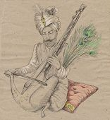 picture of guru  - Theme - JPG