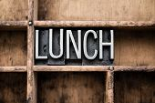 stock photo of lunch  - The word  - JPG