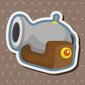 picture of cannon-ball  - Pirate Cannon Theme Elements - JPG