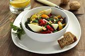 foto of nettle  - Salad with nettles - JPG
