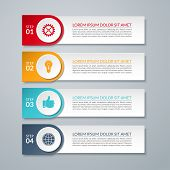 picture of step-up  - Infographic design number options banner or template - JPG