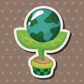 stock photo of environmental protection  - Environmental Protection Concept Theme Elements - JPG