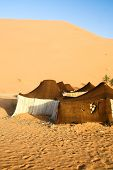 Tourist haven in the Sahara. Morocco poster