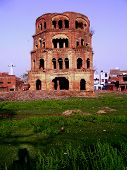 Satkhanda Of Lucknow - The Ruin Of Incomplete 7 Storied Tower Of Nawabs