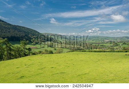 Typical Farming Scene Or Landscape