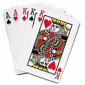 foto of playing card  - playing cards  - JPG