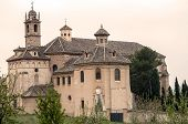 stock photo of carthusian  - Carthusian Monastery located in the Spanish province of Granada - JPG