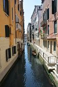 Canal In Romantic And Beautiful Venice.  Venice Canal poster
