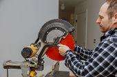 Repair Preparation Replace A Saw In A Electric Circular Saw poster