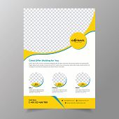 Travel Flyer Template With Travel Poster Template.design Template For Banner, Flyer, Invitation, Pos poster