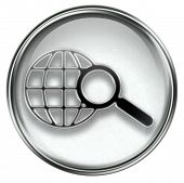 Search And Magnifier Icon