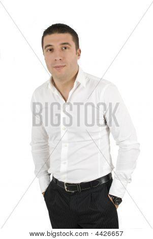 Постер, плакат: Мода парень, холст на подрамнике