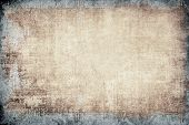 stock photo of fracture  - highly Detailed textured grunge background frame with space for your projects - JPG