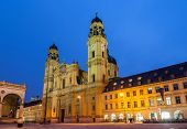 picture of munich residence  - Theatine Church of St - JPG