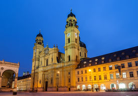 image of munich residence  - Theatine Church of St - JPG
