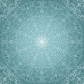 image of circle shaped  - Lace seamless pattern  - JPG