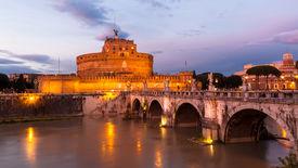 picture of spqr  - The Mausoleum Of Hadrian, Rome, Italy. The Mausoleum of Hadrian usually known as Castel Sant