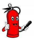 image of fire extinguishers  - Fire extinguisher Editable  - JPG