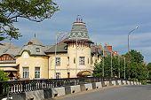 stock photo of zakarpattia  - Biulding of former casino in Berehove - JPG