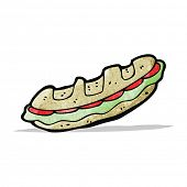 pic of baguette  - cartoon baguette - JPG
