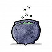 pic of cauldron  - cartoon magic cauldron - JPG