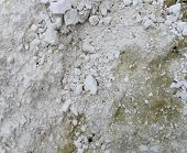 picture of dirt road  - Crushed Limestone rock seamless ground road gravel floor lime dirt background  - JPG