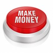 Make Money 3D Button