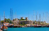 Old Castle In Bodrum